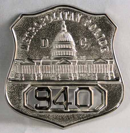 DC Officer Badge
