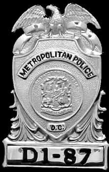 DC Top Hat Badge